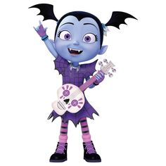 """Vampirina_With_Guitar"""